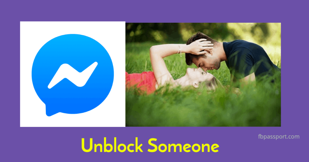 unblock someone on facebook messenger